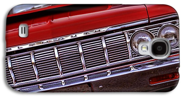 1969 Dodge Charger Stock Car Galaxy S4 Cases - 1964 Plymouth Savoy Galaxy S4 Case by Gordon Dean II