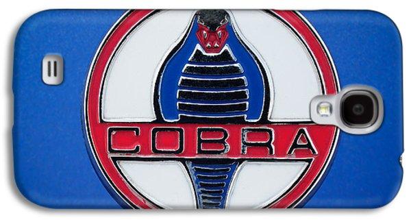 Transportation Photographs Galaxy S4 Cases - 1964 Shelby Cobra 289 Emblem Galaxy S4 Case by Jill Reger