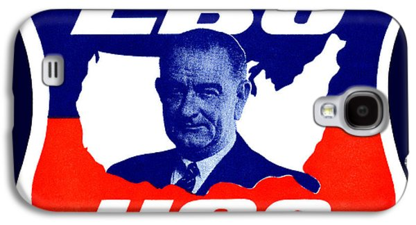 Democracy Paintings Galaxy S4 Cases - 1964 Vote for Lyndon B. Johnson Galaxy S4 Case by Historic Image