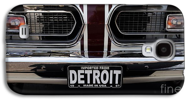 Antique Automobiles Galaxy S4 Cases - 1967 Barracuda Galaxy S4 Case by Dennis Hedberg