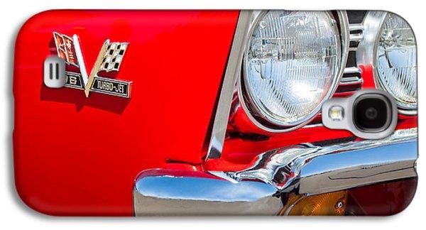 Transportation Photographs Galaxy S4 Cases - 1967 Chevrolet Chevelle SS Emblem Galaxy S4 Case by Jill Reger