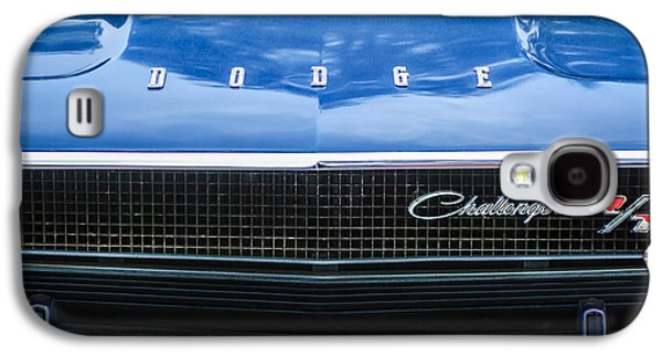 Challenger Galaxy S4 Cases - 1970 Dodge Challenger RT Convertible Grille Emblem -0545c Galaxy S4 Case by Jill Reger