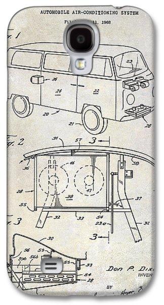1970 Vw Patent Drawing Galaxy S4 Case by Jon Neidert