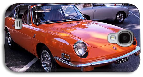 Automobiles Photographs Galaxy S4 Cases - 1971 Fiat 850 Spider by Bertone Galaxy S4 Case by Rona Black