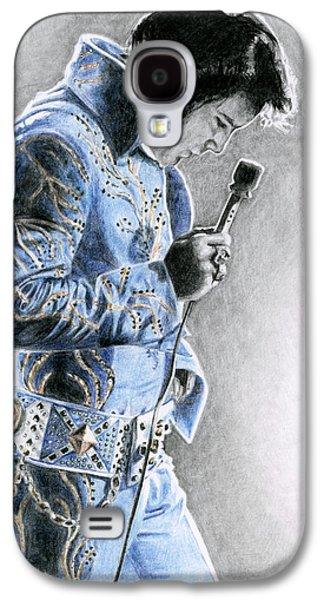 1972 Light Blue Wheat Suit Galaxy S4 Case by Rob De Vries
