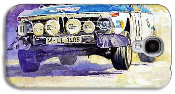 Portugal Galaxy S4 Cases - 1973 Rallye of Portugal BMW 2002 Warmbold Davenport Galaxy S4 Case by Yuriy Shevchuk