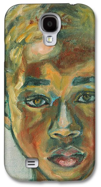 African-american Galaxy S4 Cases - 1st Day at School Galaxy S4 Case by Xueling Zou