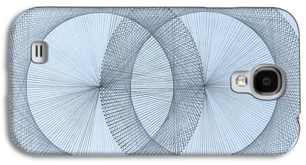 Sex Drawings Galaxy S4 Cases -   Magnetism Galaxy S4 Case by Jason Padgett
