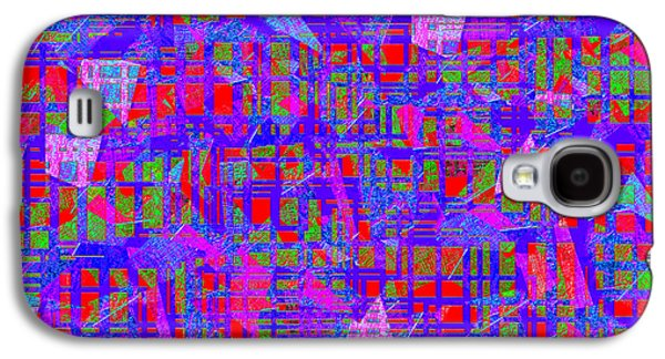 Abstract Digital Art Galaxy S4 Cases - 0195 Abstract Thought Galaxy S4 Case by Chowdary V Arikatla