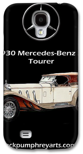 Development Mixed Media Galaxy S4 Cases - 1930 Mercedes Benz SS Tourer Galaxy S4 Case by Jack Pumphrey