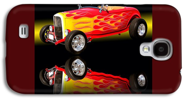 1932 Ford V8 Hotrod Galaxy S4 Case by Jim Carrell