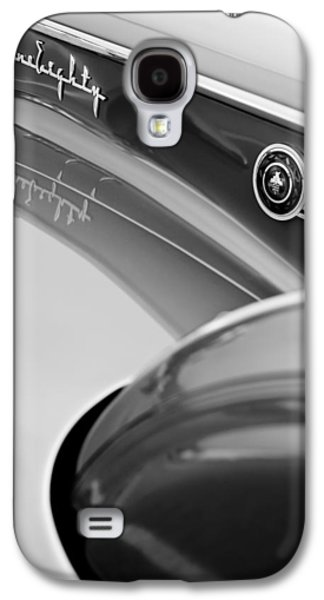 1907 Galaxy S4 Cases - 1941 Packard 1907 Custom Eight One-Eighty LeBaron Sport Brougham Side Emblems Galaxy S4 Case by Jill Reger