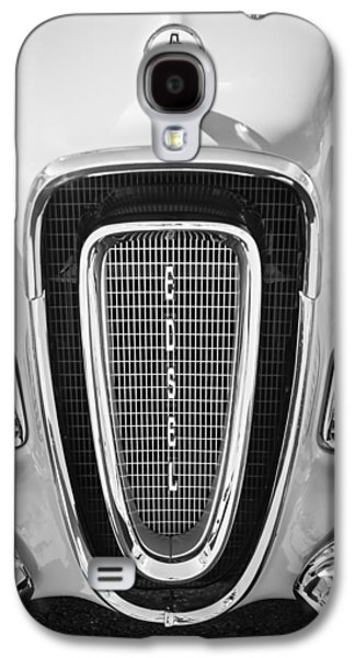 Pacers Galaxy S4 Cases - 1958 Edsel Pacer Grille Emblem - Hood Ornament Galaxy S4 Case by Jill Reger