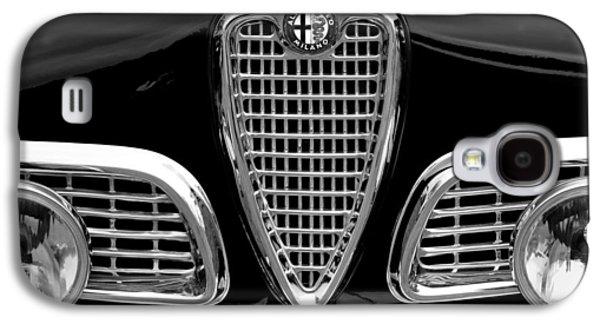 Sprint Galaxy S4 Cases - 1959 Alfa Romeo Giulietta Sprint Grille Galaxy S4 Case by Jill Reger