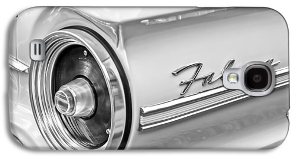 1963 Ford Galaxy S4 Cases - 1963 Ford Falcon Futura Convertible Taillight Emblem Galaxy S4 Case by Jill Reger