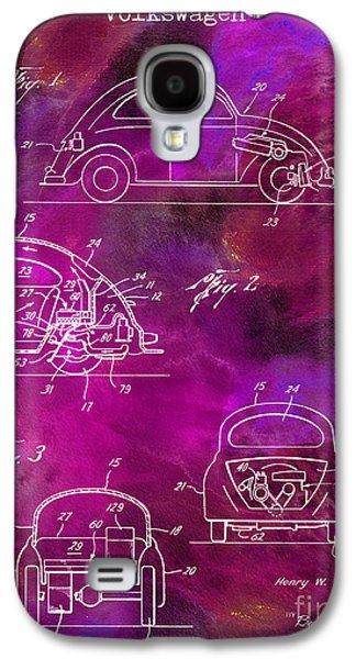 1968 Vw Patent Drawing Galaxy S4 Case by Jon Neidert