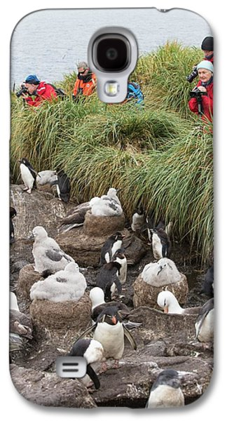 A Black Browed Albatross Galaxy S4 Case by Ashley Cooper