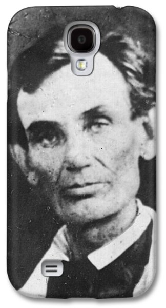 Abraham Lincoln Galaxy S4 Case by Anonymous