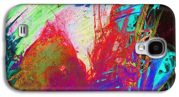 Digital Galaxy S4 Cases - Abstract Color Galaxy S4 Case by Gary Grayson