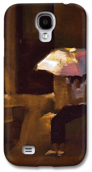 Light Pastels Galaxy S4 Cases - Adobe Sun Galaxy S4 Case by David Patterson