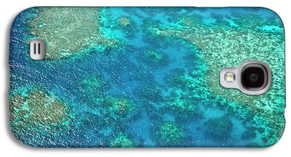 Aerial View Of The Great Barrier Reef Galaxy S4 Case by Miva Stock