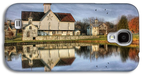 Lori Deiter Digital Art Galaxy S4 Cases - Afternoon at the Star Barn Galaxy S4 Case by Lori Deiter
