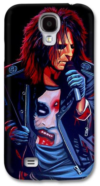 Alice Cooper  Galaxy S4 Case by Paul Meijering