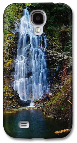 Snow Melt Galaxy S4 Cases - An Angel In The Falls Galaxy S4 Case by Jeff  Swan