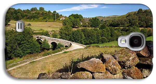 Portugal Galaxy S4 Cases - Ancient Romanic Bridge  Galaxy S4 Case by Carlos Caetano