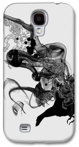 Smoke Digital Galaxy S4 Cases - Ashes to ashes Galaxy S4 Case by Budi Kwan