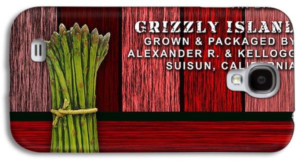 Asparagus Farm Galaxy S4 Case by Marvin Blaine