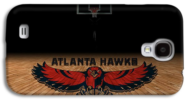Nba Galaxy S4 Cases - Atlanta Hawks Galaxy S4 Case by Joe Hamilton