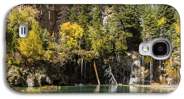 Horse Images Galaxy S4 Cases - Autumn At Hanging Lake Waterfall - Glenwood Canyon Colorado Galaxy S4 Case by Brian Harig