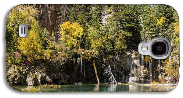 Autumn At Hanging Lake Waterfall - Glenwood Canyon Colorado Galaxy S4 Case by Brian Harig