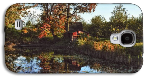 Autumn In The Country Galaxy S4 Cases - Autumn Palette Galaxy S4 Case by Joann Vitali