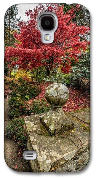 North Wales Digital Art Galaxy S4 Cases - Autumn Path Galaxy S4 Case by Adrian Evans