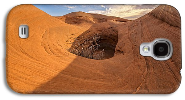Holes In Sandstone Galaxy S4 Cases - Balance Galaxy S4 Case by Dustin  LeFevre