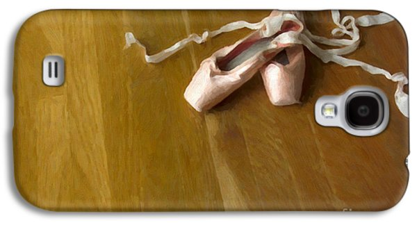 Studio Photographs Galaxy S4 Cases - Ballet Slippers Galaxy S4 Case by Diane Diederich