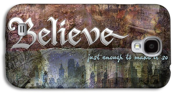 Inner Peace Galaxy S4 Cases - Believe Galaxy S4 Case by Evie Cook