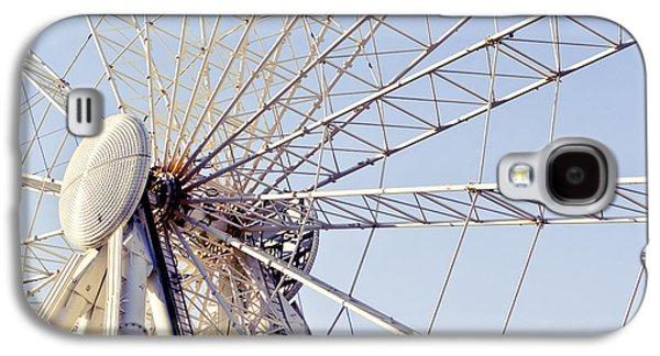 Rollercoaster Photographs Galaxy S4 Cases - Big wheel Galaxy S4 Case by Tom Gowanlock