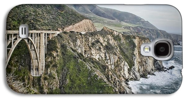 Bixby Bridge Galaxy S4 Cases - Bixby Bridge Vista Galaxy S4 Case by Heather Applegate