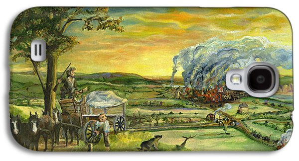 Recently Sold -  - Slavery Galaxy S4 Cases - Bleeding Kansas - A Life and Nation Changing Event Galaxy S4 Case by Mary Ellen Anderson
