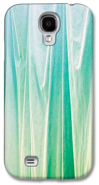Selenium Galaxy S4 Cases - Blue curtain Galaxy S4 Case by Tom Gowanlock