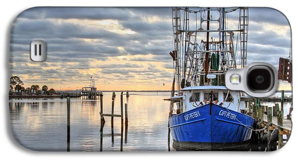 Florida Panhandle Galaxy S4 Cases - Blue Galaxy S4 Case by JC Findley