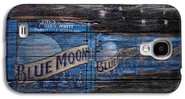 Breweries Galaxy S4 Cases - Blue Moon Galaxy S4 Case by Joe Hamilton