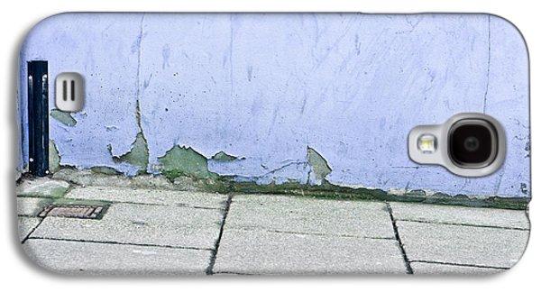 Torn Galaxy S4 Cases - Blue wall Galaxy S4 Case by Tom Gowanlock