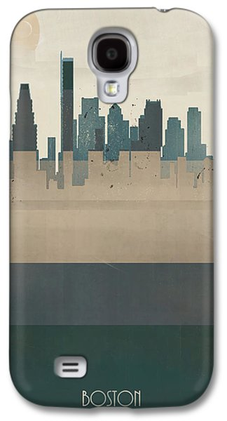 Boston City Massachusetts Galaxy S4 Case by Bri B