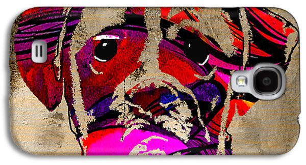 Boxer Galaxy S4 Case by Marvin Blaine