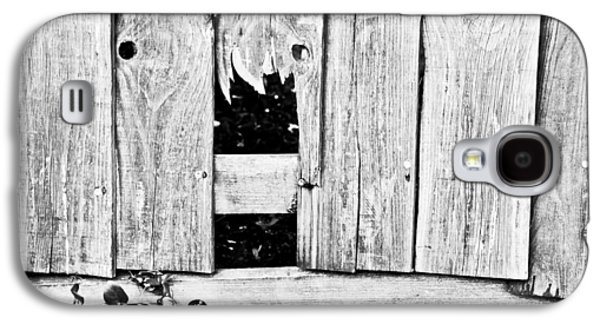 Torn Galaxy S4 Cases - Broken fence Galaxy S4 Case by Tom Gowanlock