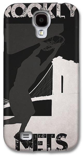 Dunk Galaxy S4 Cases - Brooklyn Nets Galaxy S4 Case by Joe Hamilton